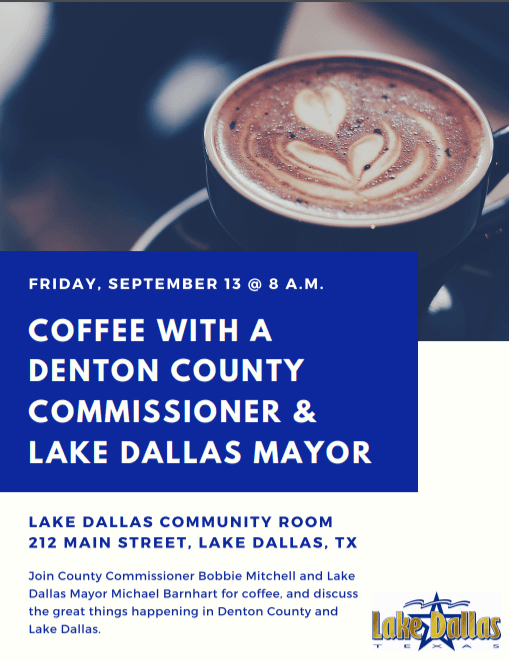 20190913 Coffee with a Commissioner