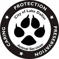 City of Lake Dallas Animal Services - Caring, Protecting, Preservation logo