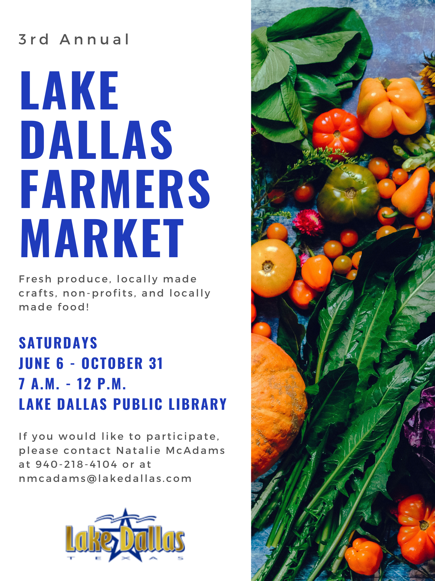 Farmers Market June 6